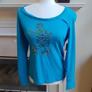 Disney Parks Blue Mickey Mouse Top